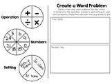 Create - a - Word Problem