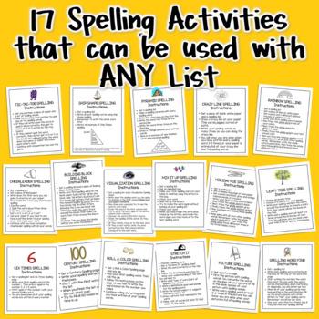 Word Work Center Activities 2nd Grade 3rd Grade | Print & Go Literacy Centers