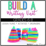 Create a Writing Unit {Common Core Aligned}