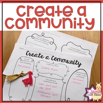 Create a Community as a Geography Lesson