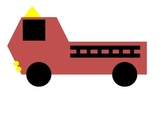 Create a firetruck using shapes