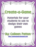 Create-a-game Materials
