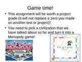 Create a game board