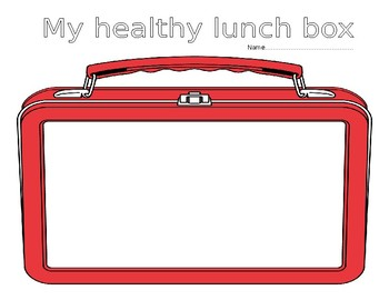 Create a healthy lunchbox/plate