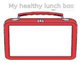 Create a healthy lunchbox/plate