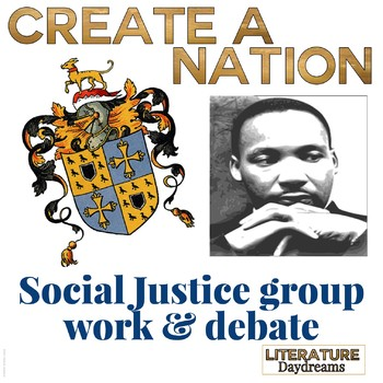 Martin Luther King: Create a nation activity