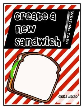 Create a new sandwich writing task