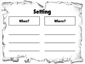 FREE Create a story: characters, setting, events, problem and solution