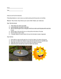 Create a sun dial project