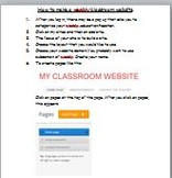 Create a weebly teacher website