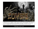 Zombie style text effect with Photoshop CC - no prep graphic design lesson