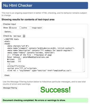 Create an Advanced HTML Template
