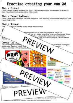 Create an Advertisement - Year 6 Unit 3 English
