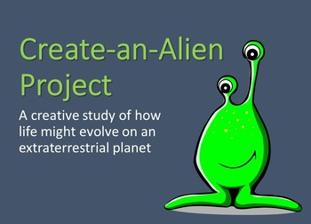 Create-an-Alien Project