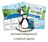 Create an Animal- Adaptation Game