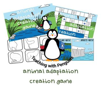 Create an Animal- Adaptation Game