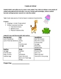 Create an Animal Project and Rubric