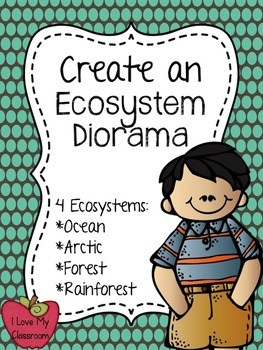 Create an Ecosystem Diorama {Forest, Ocean, Rainforest, and Arctic}