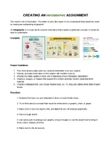 Create an Infographic Data Graphic Project with Rubric Jr High