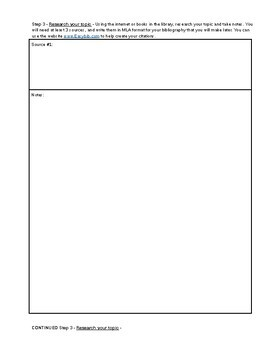 Create an Instruction Manual Project