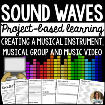 Create an Instrument: Sound Waves Project-Based Learning Distance Learning