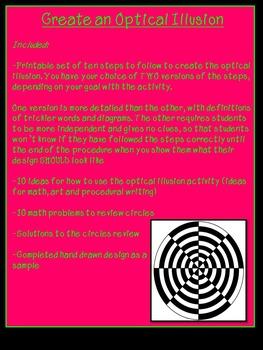 how to create optical illusion art