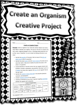 Create an Organism Creative Project