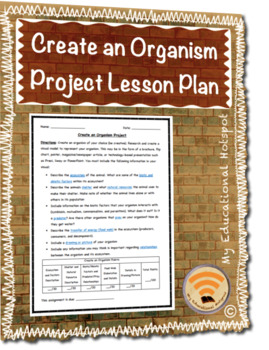 Create an Organism Creative Project