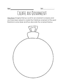 Create an Ornament Freebie!