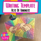 """Create an """"Random Acts of Kindness Poster""""- How we can be nice to each other"""