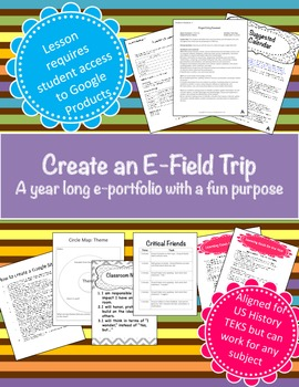 Create an e-field trip (For any subject) (PBL)