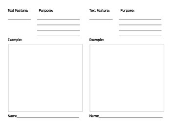 Create an informational Text Booklet with your class!