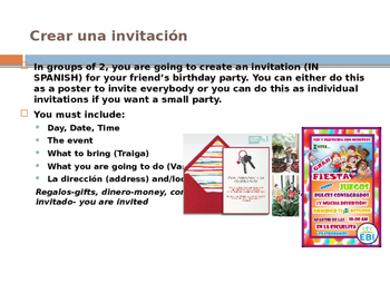 Create an invitation and conversation