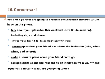 Create an invitation and conversation by la clase de sra whyte tpt create an invitation and conversation stopboris Choice Image