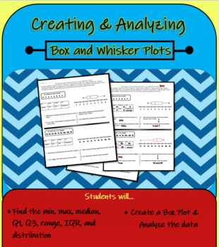 Create and Analyze Box & Whisker Plots