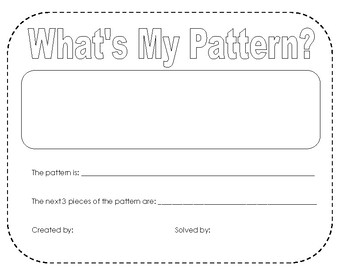 Create and Find patterns!