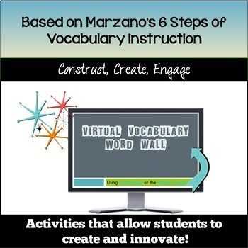 Create and Innovate with Google Drive Vocabulary Activities!
