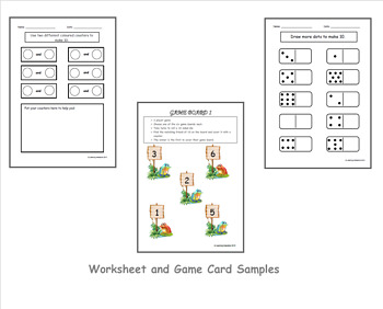 Create and recognise combinations to 10 - Foundation
