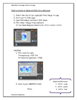 Create images suitable for the web using Photoshop SE