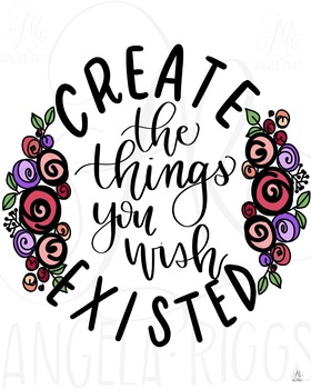 Create the Things You Wish Existed - Maker Space Printable