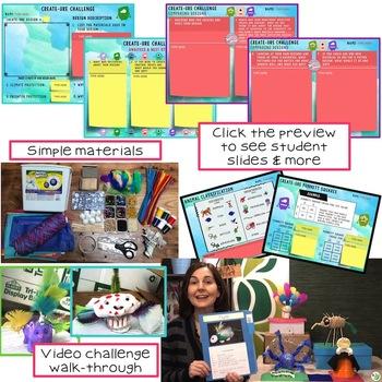 Create-ure STEM Challenge: PAPERLESS VERSION