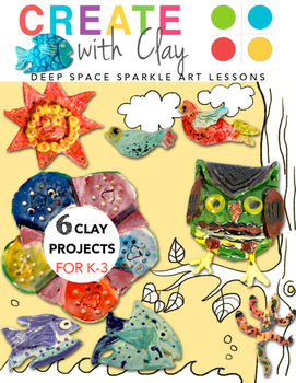 Create with Clay: 6 Kiln & Air Dry Clay Projects