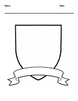 Create your Own Family Crest Worksheet