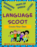 CREATE YOUR OWN LANGUAGE SCOOT