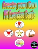 Create your Own Physical Education Exercise Cards