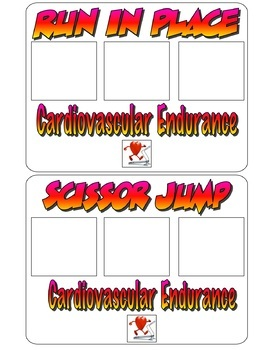 Create your Own PE Exercise Cards