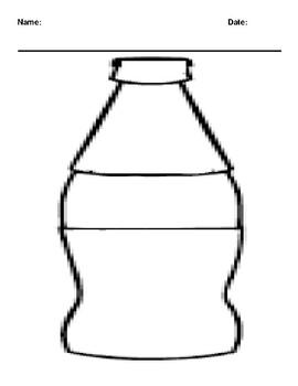 Create your Soda Bottle Worksheet