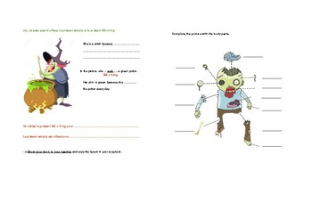 Create your creature - Halloween Lesson Plan