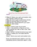 Create your own Amusement Park  - Project