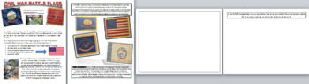 Create your own Civil War Battle Flag